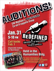 Redefined Spring 2013 Auditions